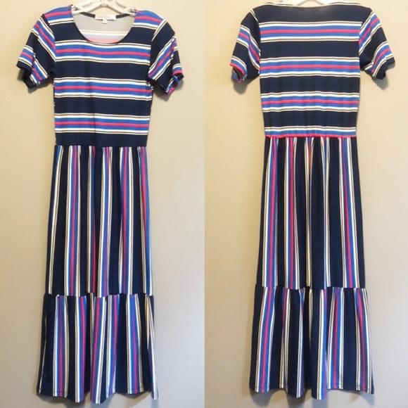 Velvet Torch Dresses & Skirts - Velvet Torch Striped Dress- XS